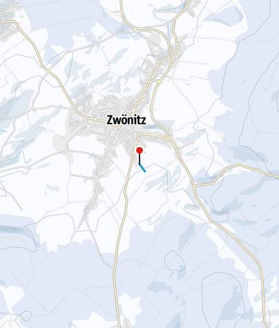 """Map / Zwönitz - Skilift """"Am Ziegenberg"""""""