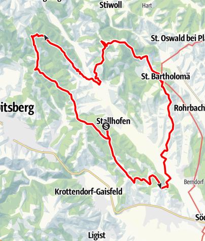 Karte / Stallhofner Rundweg