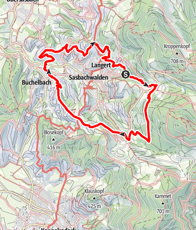 Map / Genießerpfad - Alde Gott Panoramarunde (Premiumweg)