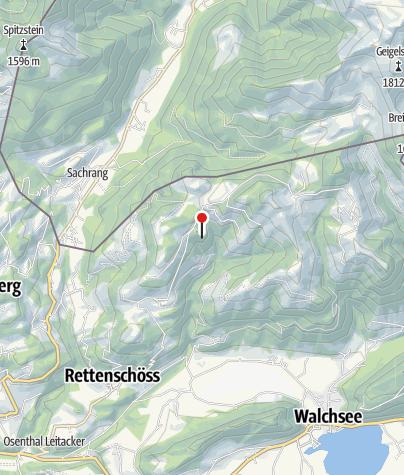 Karte / Melchbichl Alm