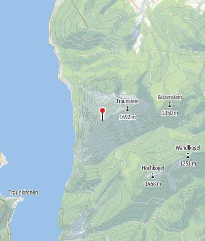 Karte / Traunsteinhaus