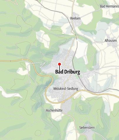 Karte / Kulturjugendherberge Bad Driburg