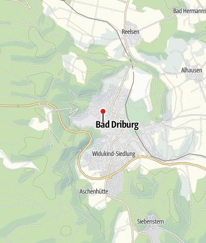 Karte / Jugendherberge Bad Driburg