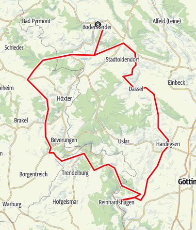 Karte / Schöne Tagestour