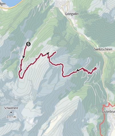 Mapa / Zur Aussichtskanzel Bällehöchst