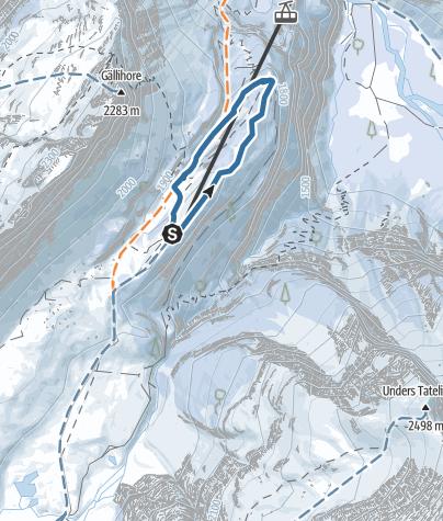 Map / Stock Trail - Kandersteg