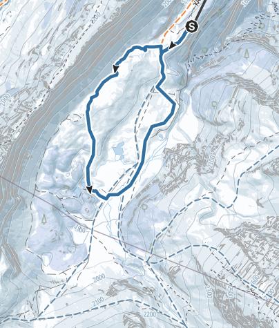 Map / Spittelmatte Trail - Kandersteg