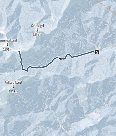 Karte / Speikkogel (Gleinalmspeik)
