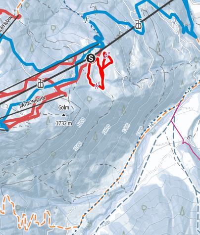 Karte / Maisäß Runde Matschwitz