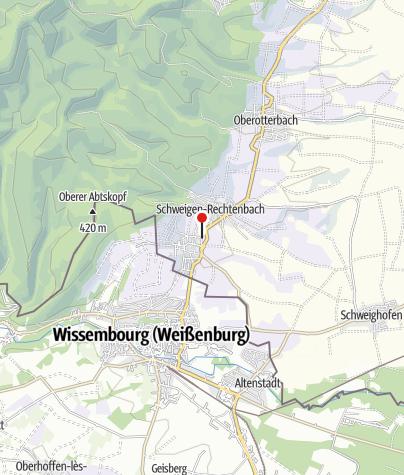 Karte / Deutsches Weintor