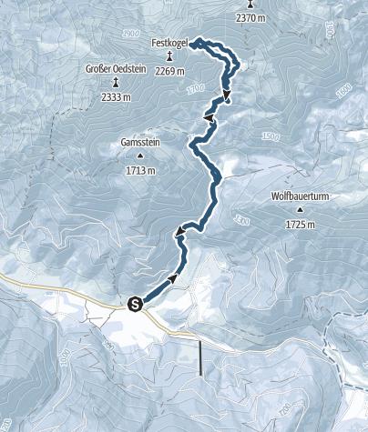 Map / Vom Kölblwirt auf den Festkogel