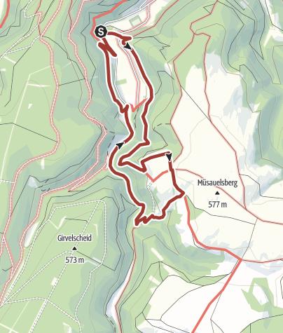 Karte / Schöpfungspfad