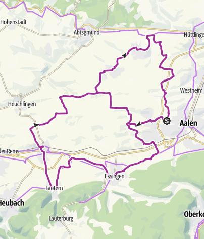Karte / Tour 2 Panoramatour durch das Welland