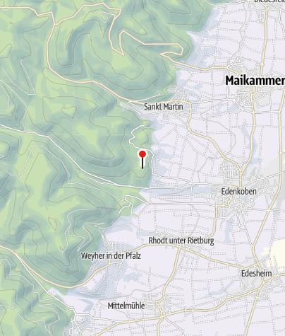 Karte / Waldgaststätte am Friedensdenkmal