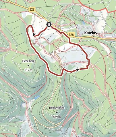 Karte / Wildpfad