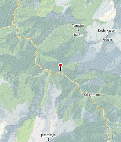 Karte / Weichtalhaus