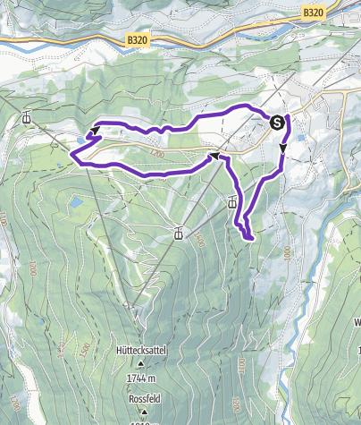 Map / Bernhard Knauss Trail