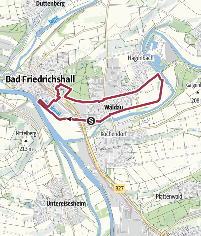 Karte / N5 Salzwanderweg