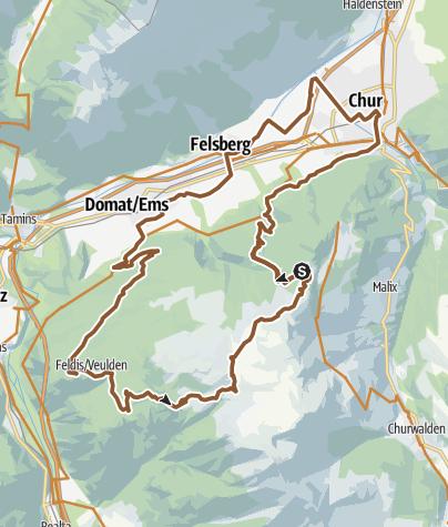 Map / Dreibündenstein (Lady Patricia)