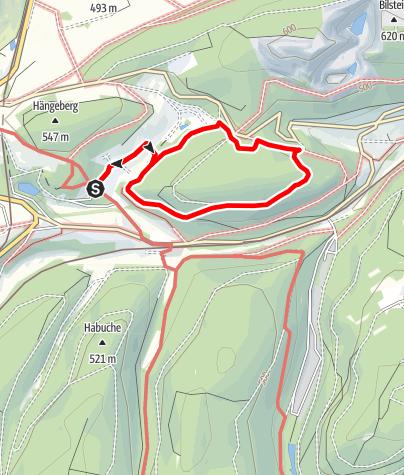 Karte / Blindenwanderweg