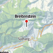 "Kart / Blickplatz ""20 Schilling Blick"""