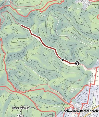 Karte / Waldgeisterweg Oberotterbach