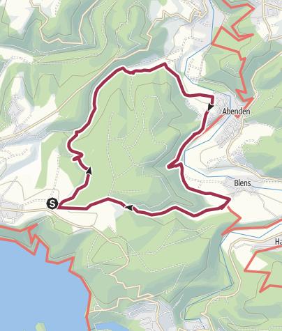 Karte / Biber Bäche Eifelwälder (Themen-Tour 1)