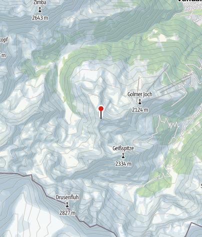 Karte / Golmer Kreuzjoch (2.261 m)
