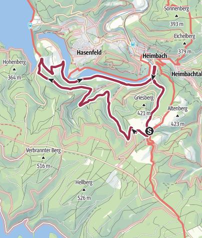 Nationalpark Eifel Karte.Orte Der Kraft Themen Tour 5 Wanderung Outdooractive Com