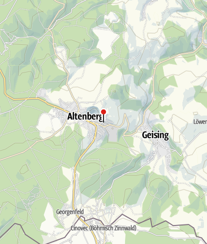 Karte / Bergbaumuseum Altenberg