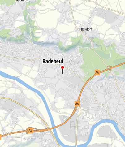 Karte / Kulturbahnhof Radebeul Ost