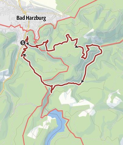 Karte / Luchstour
