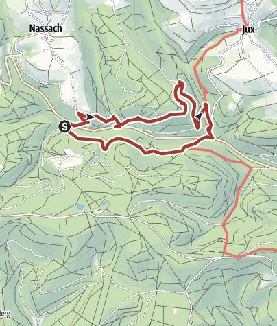 Karte / Bergbaulehrpfad