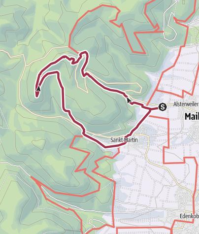 Karte / Maikammer-Erlebnisland/Kalmit-Felsenmeer-Tour