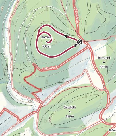 Karte / OT 2 - Rundweg um den Dommelturm