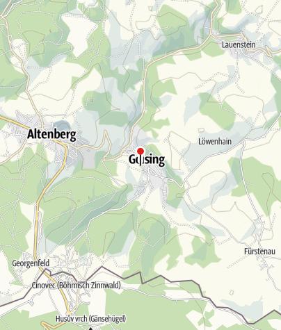 "Karte / Eishalle ""Gründelstadion"" Geising"