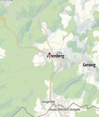 Karte / Rodelhang Altenberg