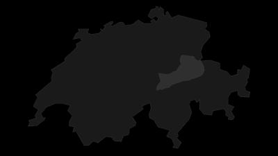 Map / Glarner Alps