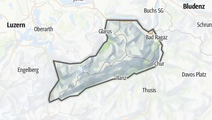 地图 / Glarner Alps