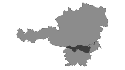 Map / Karavanke and Pohorje
