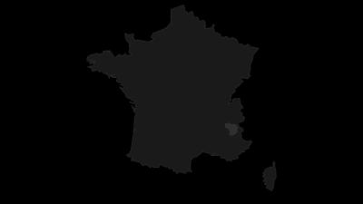 """Karte / Pelvoux-Gruppe (""""Dauphiné"""", Massif des Écrins)"""
