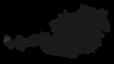 Map / Bregenzerwald Mountains