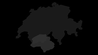 Cartina / Alpi del Vallese