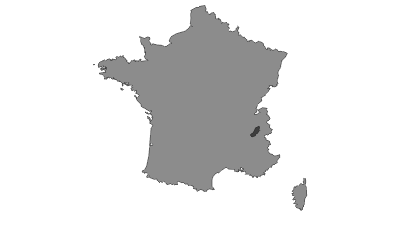 Karte / Belledonne-Gruppe