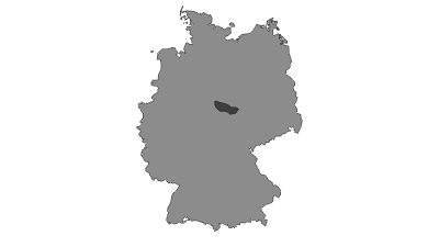 Map / Harz Mountains