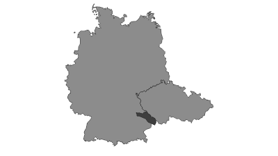 Carte / Bavarian Forest