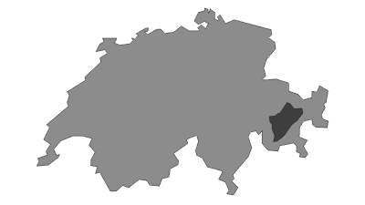 מפה / Albula Alps