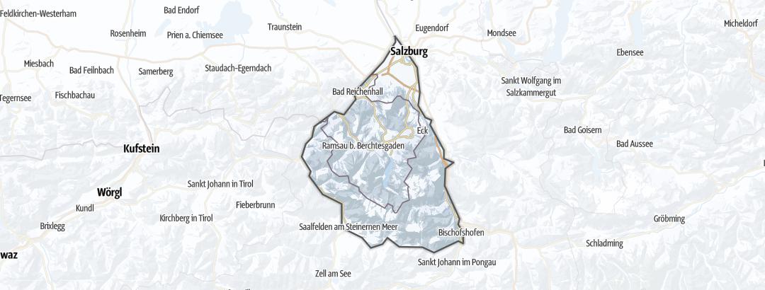 Carte / Ski de randonnée - Berchtesgaden Alps