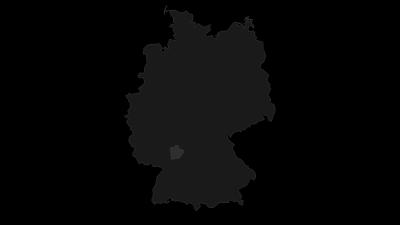 Karte / Odenwald