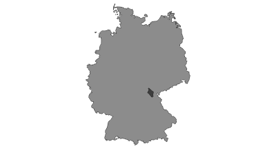 Map / Franconian Forest